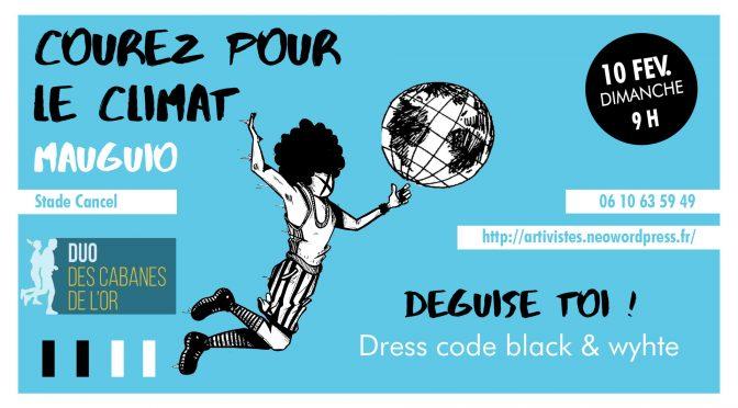 Courez pour le Climat déguisés DUO DES CABANES 10 fev. 2019